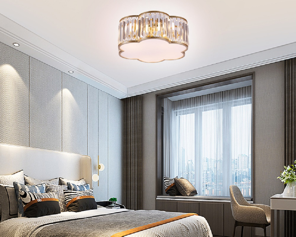 New Crystal Ceiling Lamp Home Decoration Lighting